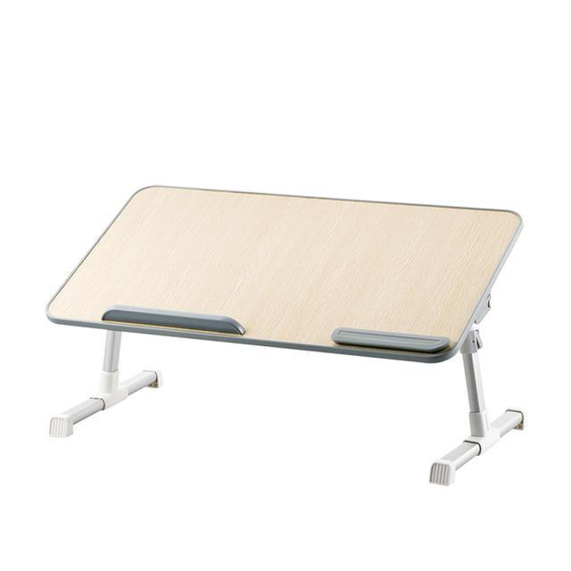 画像: 折りたたみノートPCテーブル(60cm幅) - PCA-LTTT6033OAK