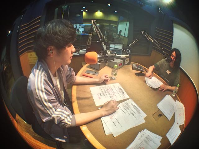 画像: シャリラジオ1回目の放送です!