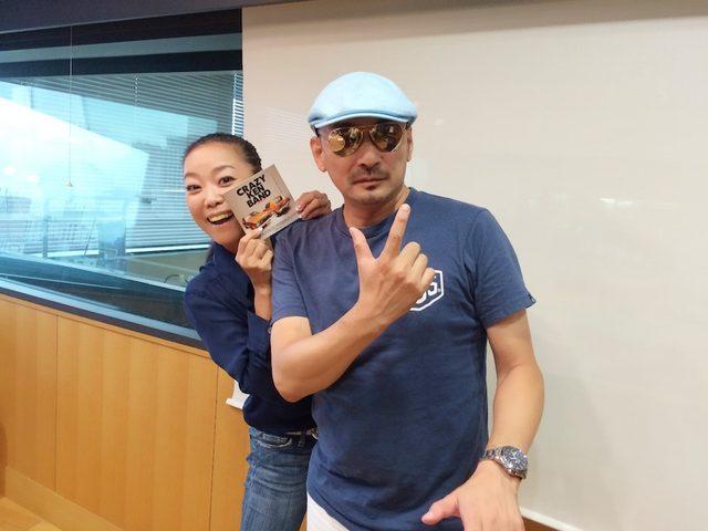 画像: 8/27 【ドコモ D LIFE】クレイジーケンバンド 横山剣さん