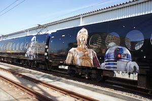 画像2: 南海電気鉄道特急ラピート「スター・ウォーズ/フォースの覚醒」