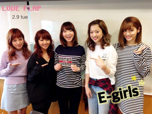 画像: 2/9(火) 今日のゲスト「E-girls」