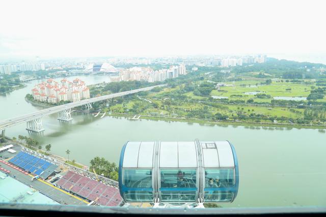 画像: 「シンガポール・エクスプローラー・パス」を利用すれば 「シンガポールフライヤー」 も無料で利用できます!!