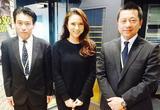画像: シンガポール航空の「木原さん」と オーバーシーズトラベルの「楠野さん」にお越し頂きました。