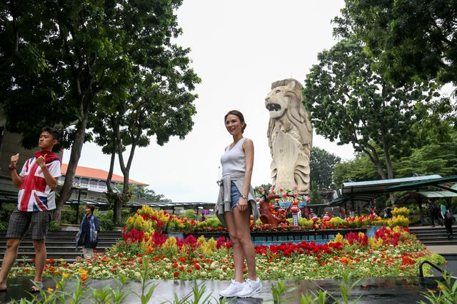 画像: 「セントーサ島」は、シンガポールの中心部から約 20 分で訪れることのできる リゾート・アイランド。島のなかにはエキサイティングなアトラクションが点在する、 シンガポールで欠かせない観光スポットです。
