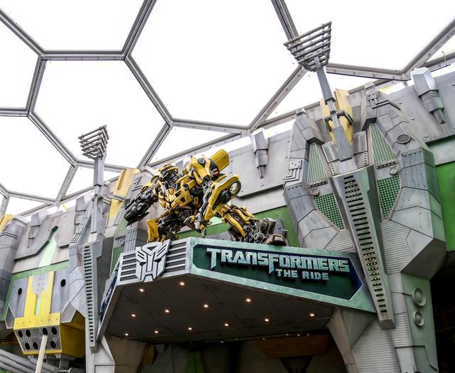 画像: トランスフォーマー・ザ・ライド・アルティメット 3-D バトル 3Dシミュレーション・ライドタイプのアトラクションで 体験できるのはユニバーサル・スタジオ・ハリウッドとUSSだけ