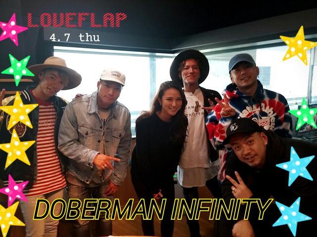 画像: 4/7(木) 【ドコモ d LIFE】DOBERMAN INFINITY