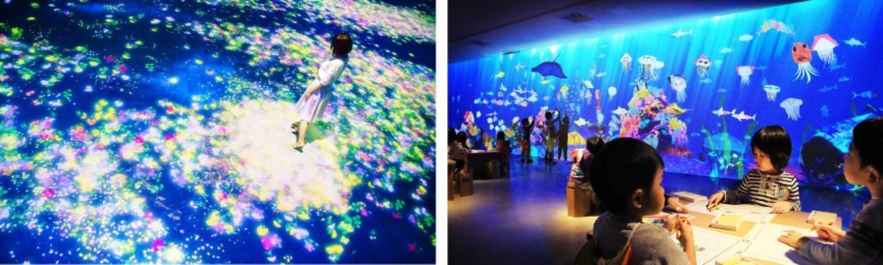 画像: チームラボアイランド 踊る!美術館と、学ぶ!未来の遊園地   イベント詳細   ひらかたパーク