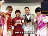 画像: 5/31(火) 今日のゲスト「BOYS AND MEN」