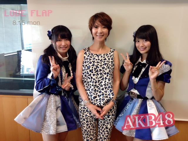 画像1: 8/15(月) 今日のゲスト「AKB48」