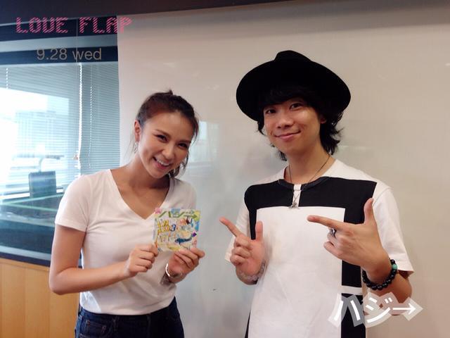 画像: 9/28(水)今日のゲスト「ハジ→」さん