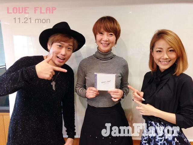 画像: 11/21(月)今日のゲスト「JamFlavor」
