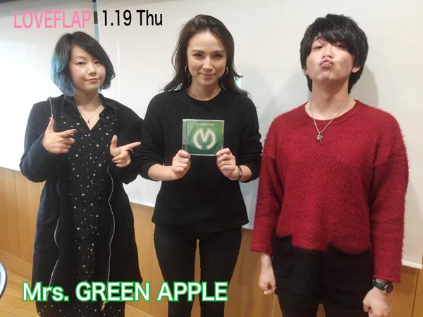 画像: 【1/19(木)LOVE FLAP】ゲスト「Mrs.GREEN APPLE」