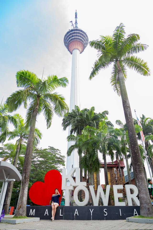 画像: 高さ421メートル!KLタワー