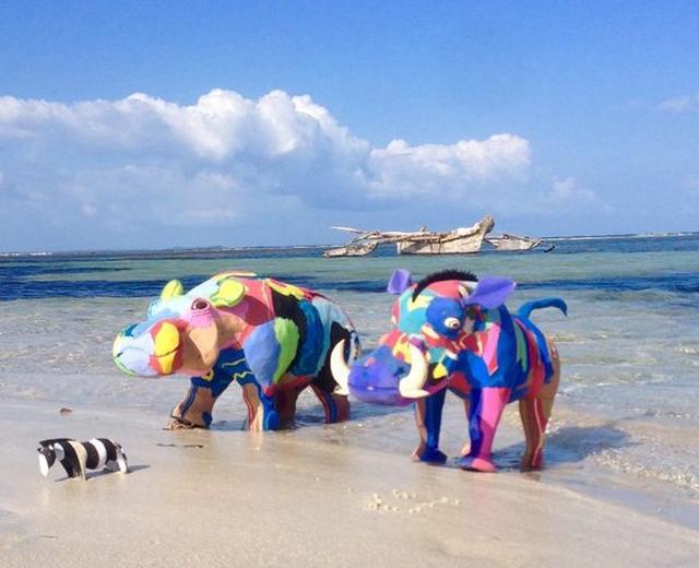 画像: ケニアのリサイクル団体が実施したプロジェクト・・・のおはなし。