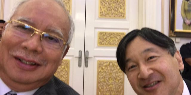 画像: 皇太子さまとマレーシア首相が「自撮り」2ショット 「素晴らしい友好関係」と話題に