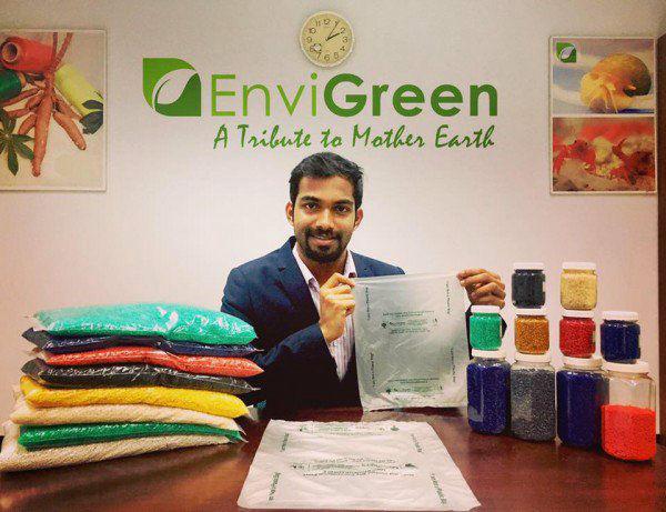 画像: インドのスタートアップ企業、100%生分解性の「食べられるビニール袋」を開発 | BUZZAP!(バザップ!)