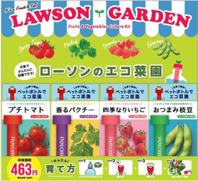 画像: 『エコ菜園キット』4月7日よりローソン店舗で販売開始! | TOPICS | 佐川アドバンス株式会社