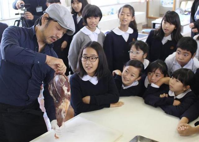 画像: 「野生動物捕獲→料理」命の尊さ学ぶ 大阪の小学校でジビエを使った食育授業開催