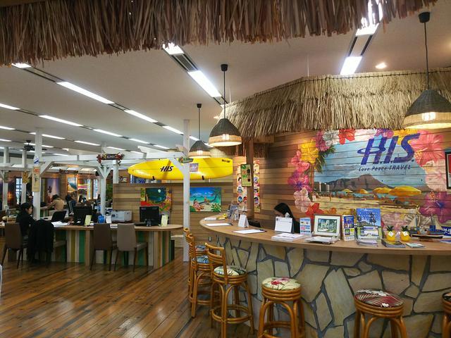 画像1: H.I.S.大阪駅前ハワイ支店に行ってきました!