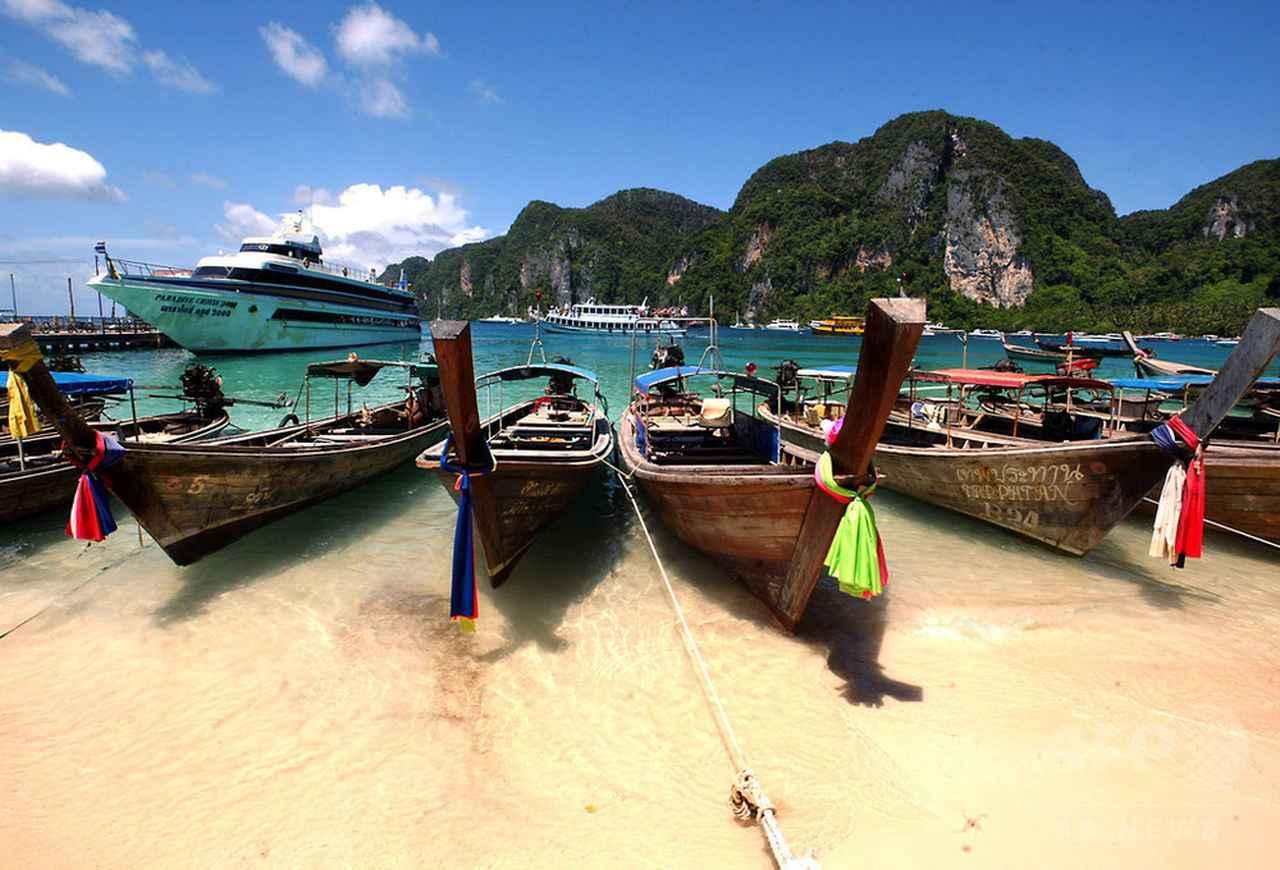 画像: 映画『ザ・ビーチ』の浜辺、6月から閉鎖 観光客殺到で環境被害 タイ