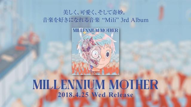 "画像: 3rd Album ""Millennium Mother"" Trailer Movie & Live info - Mili youtu.be"