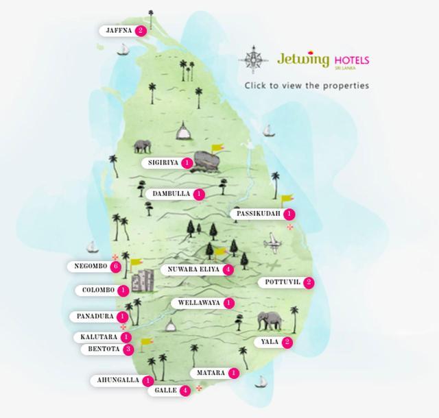 画像: スリランカの中に35のホテル。全部素敵!