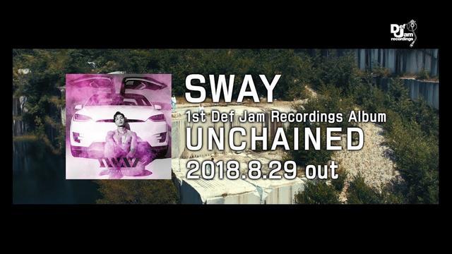 画像: SWAY『UNCHAINED』30秒CM【2018.8.29 out!!】 youtu.be