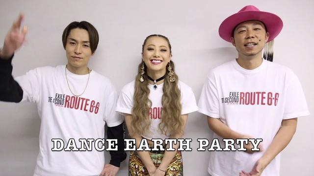 画像: DANCE EARTH PARTY / Anuenueコメント動画 youtu.be