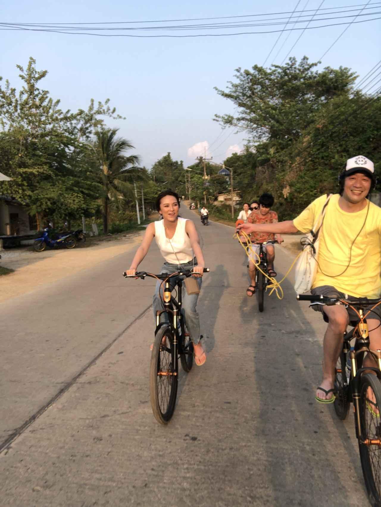 画像3: 今週の話題は「サイクリング&サンセット」