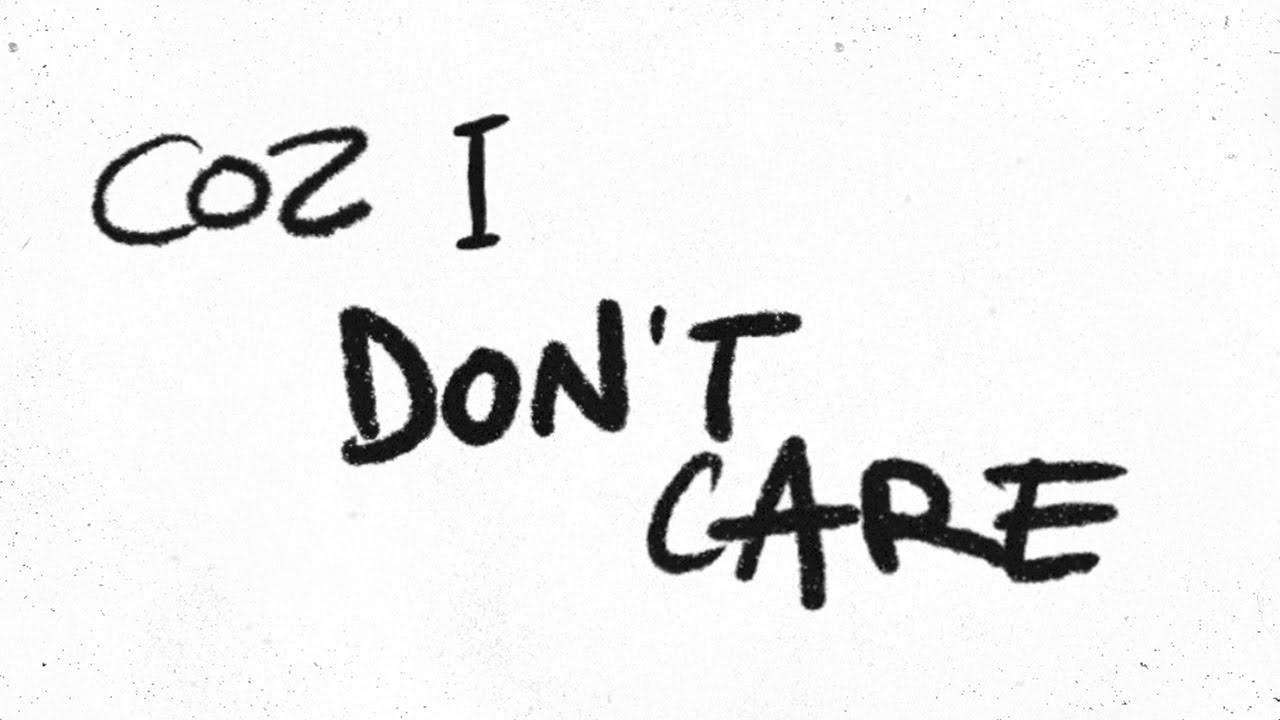 画像: Ed Sheeran & Justin Bieber - I Don't Care [Official Lyric Video] youtu.be