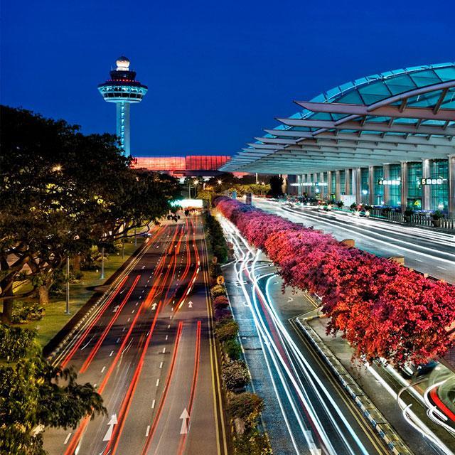 画像: シンガポール・チャンギ空港