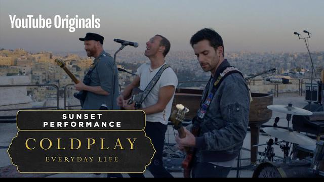 画像: Coldplay: Everyday Life Live in Jordan - Sunset Performance youtu.be