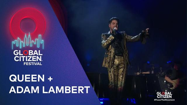 画像: Queen + Adam Lambert perform Bohemian Rhapsody | Global Citizen Festival NYC 2019 www.youtube.com