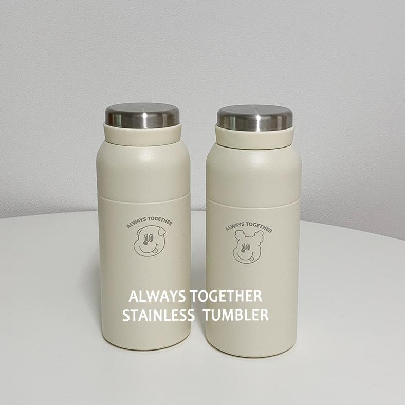 画像: ゴンチル ステンレス ボトルタンブラー(350ml/税込2,530円)