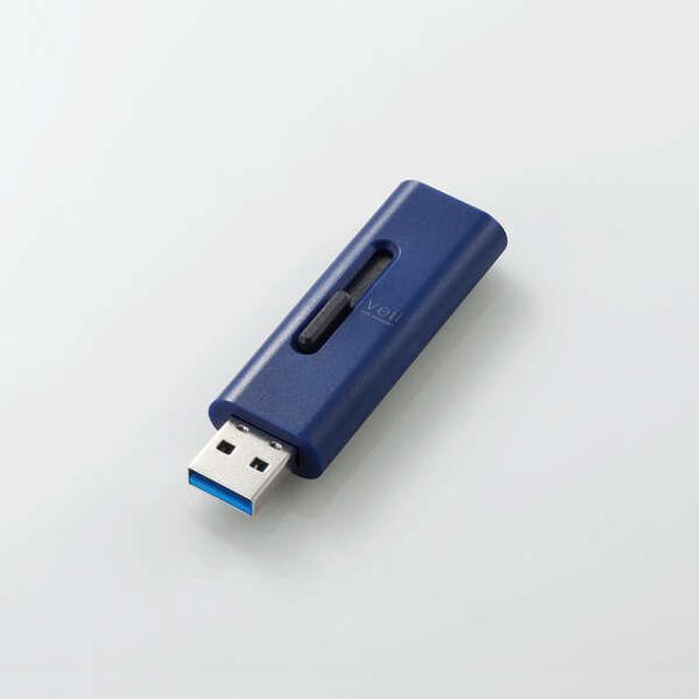 画像: ③スライド式USB