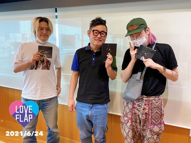画像: 今日のゲストは「Kroi」からVo. 内田怜央 さんとKey. 千葉大樹 さんでした!