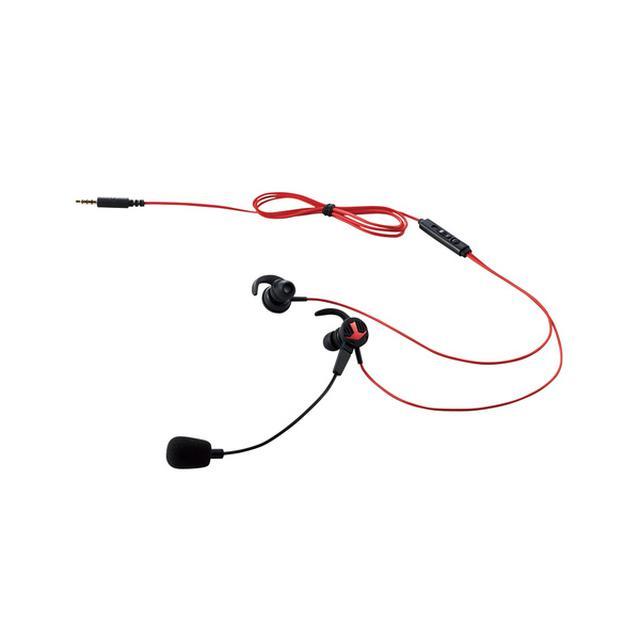 画像: 耳栓タイプ通話用ヘッドセット - HS-GS30EBK