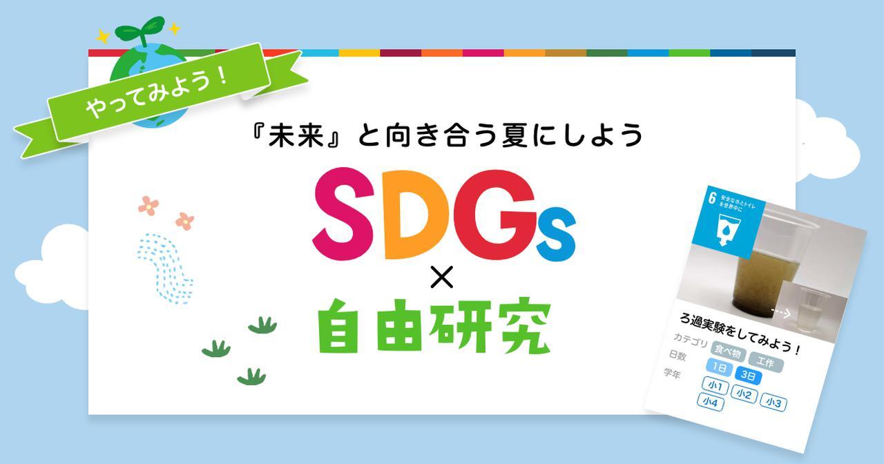 画像: 未来と向き合う夏にしよう【SDGs自由研究】|ベネッセ教育情報サイト