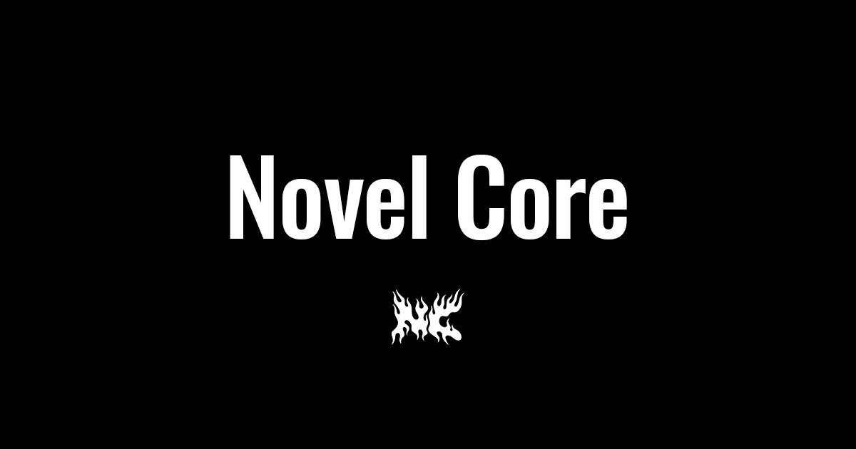 画像: Novel Core Official Website
