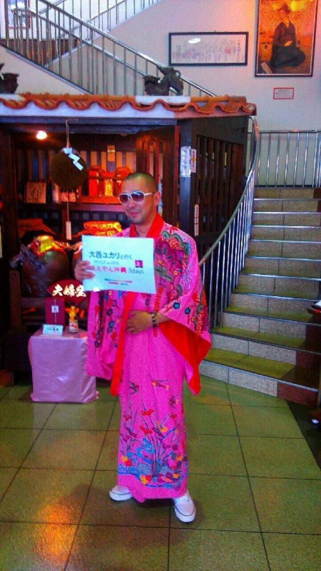 画像: 琉球衣装が似合いすぎる参加者のりゅうさん。