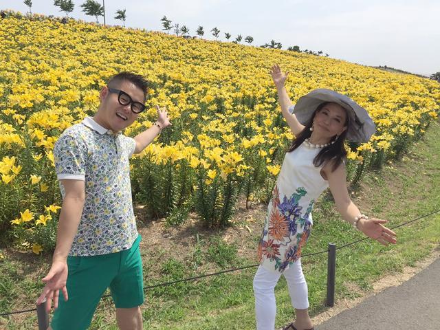 画像8: 行ってきました!大阪舞洲ゆり園へ!バスで!
