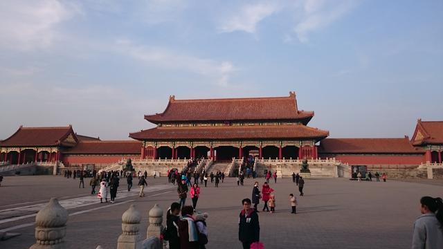 画像: もりゆうさんの憧れ、『故宮』にも行ってこられたんだとか。 とっても広いですね〜!そして綺麗!