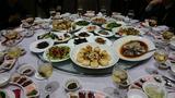 画像: ある日の貴州料理。 ・・・やっぱり、盛り盛り!!