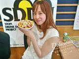 画像: 彩り豊かなタコライス!! と〜〜〜っても美味しかったです!元気出る〜〜〜!