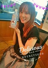 画像: 今朝のPrecious.チームは、ソルティライチを飲んで、 水分補給もバッチリです☆