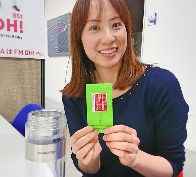 画像: 今回は森さんが中国で買ってきたジャスミンティーを淹れます