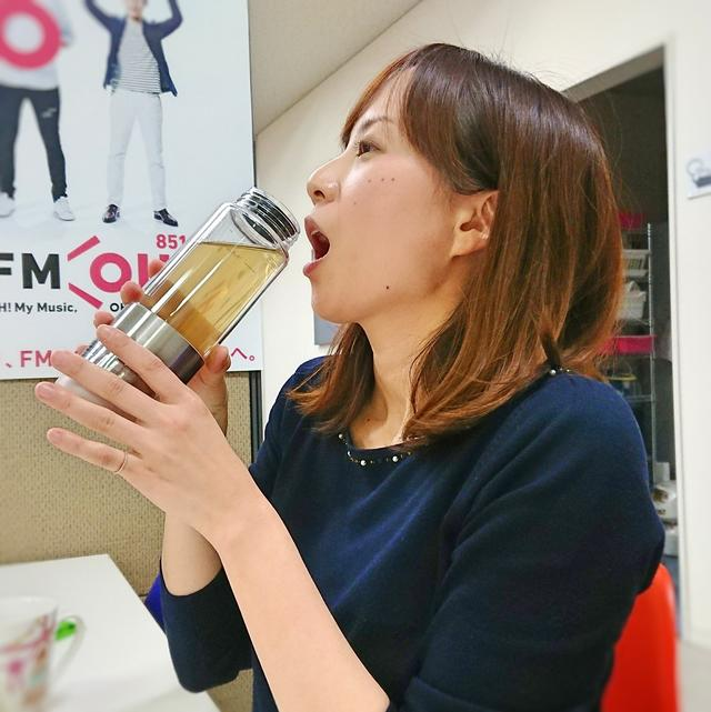 画像: いつでもあったか〜くて、美味しいお茶が楽しめます ちなみに、スタッフも同じものを持っていました…!