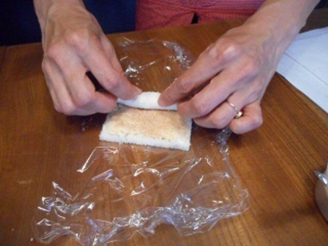 画像4: シナモンとラムレーズンチーズのサンドイッチ
