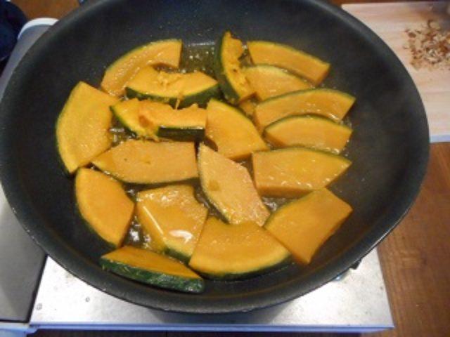 画像2: かぼちゃとチーズのアーモンド焼き