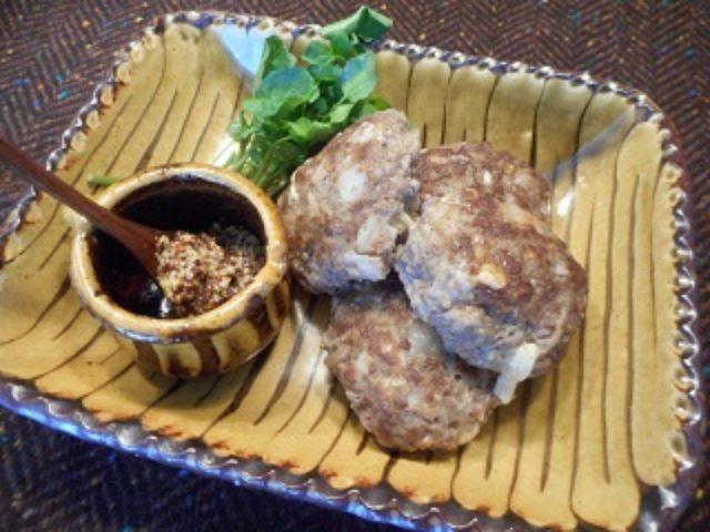 画像7: チーズ入り蓮根のビーフハンバーグ